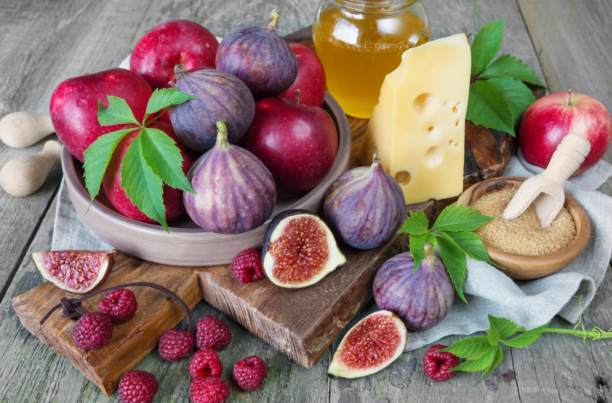 Puzzle Sammeln Puzzle Online - Figs and apples