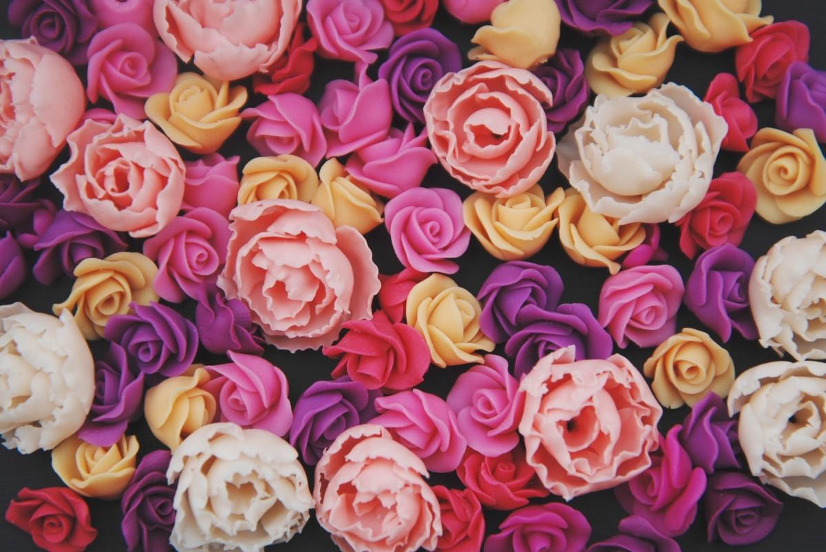 Puzzle Sammeln Puzzle Online - Artificial roses