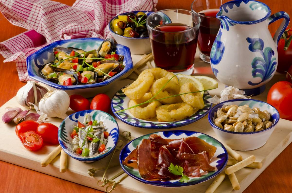 Puzzle Sammeln Puzzle Online - Spanish cuisine