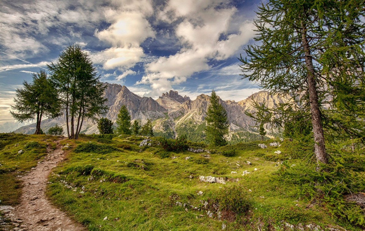 Puzzle Italian mountains
