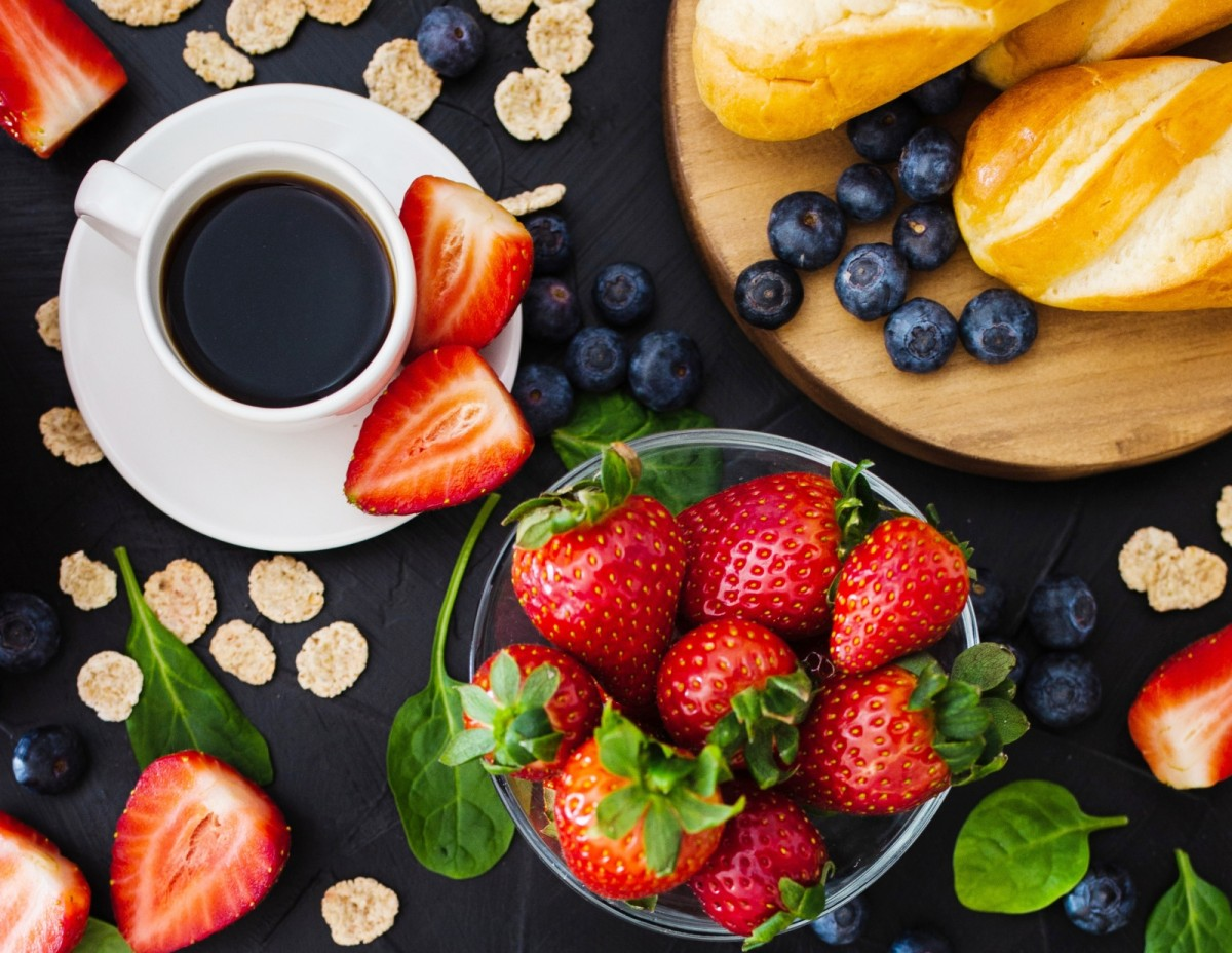 Puzzle Coffee and berries