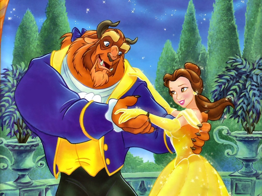 Puzzle Sammeln Puzzle Online - Beauty and the Beast