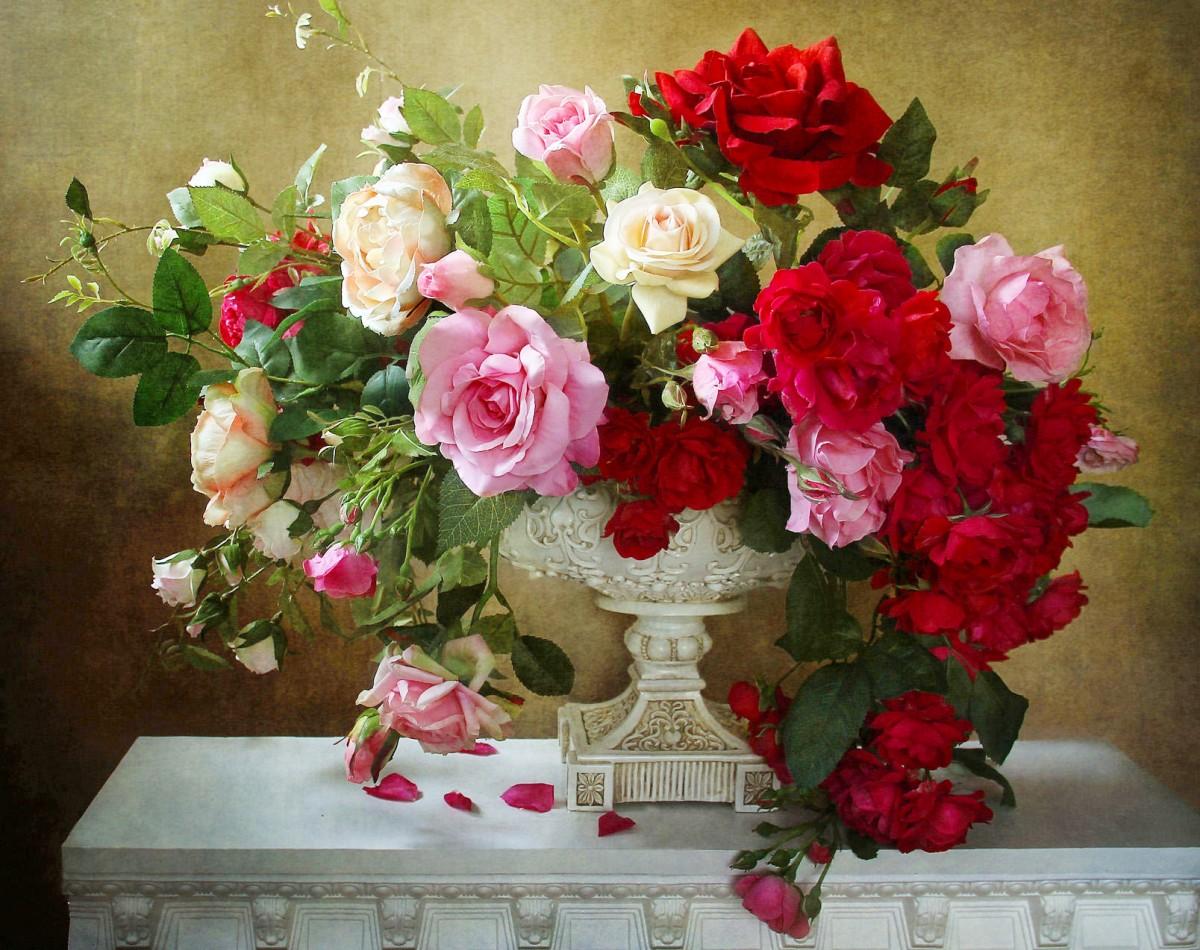 Puzzle Sammeln Puzzle Online - Beautiful bouquet