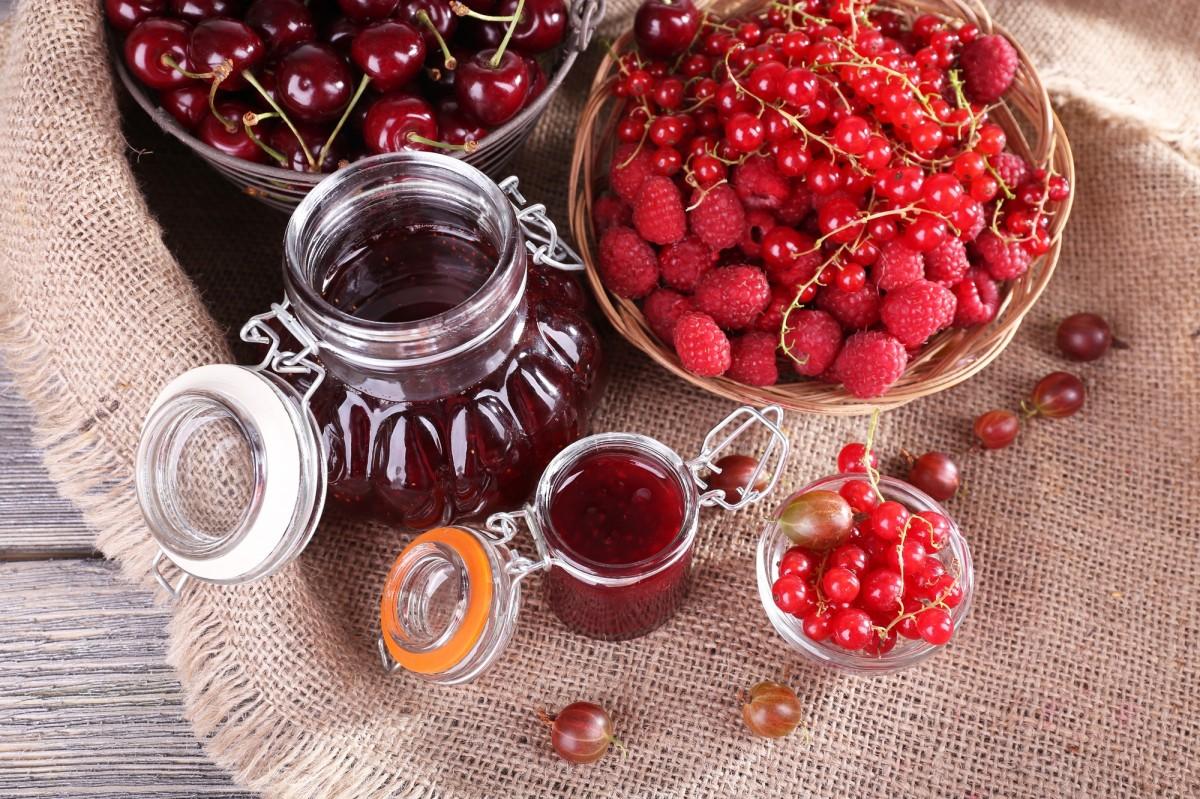 Puzzle Sammeln Puzzle Online - Red berries