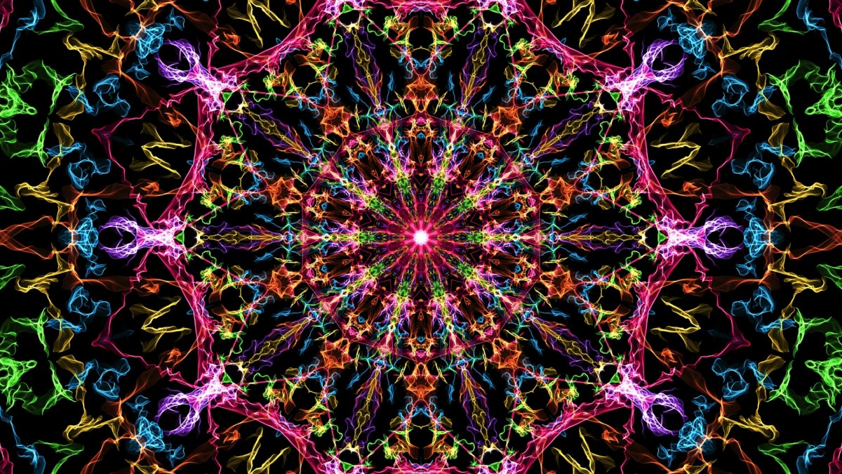 Puzzle Sammeln Puzzle Online - Circular abstraction