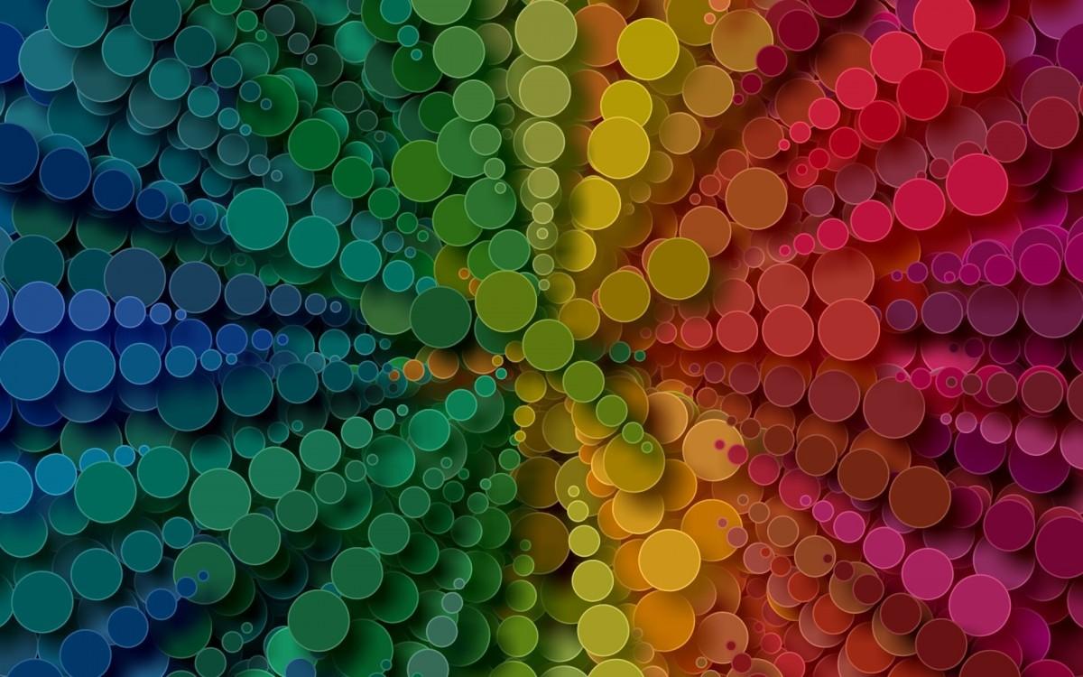 Puzzle Sammeln Puzzle Online - Circular rainbow