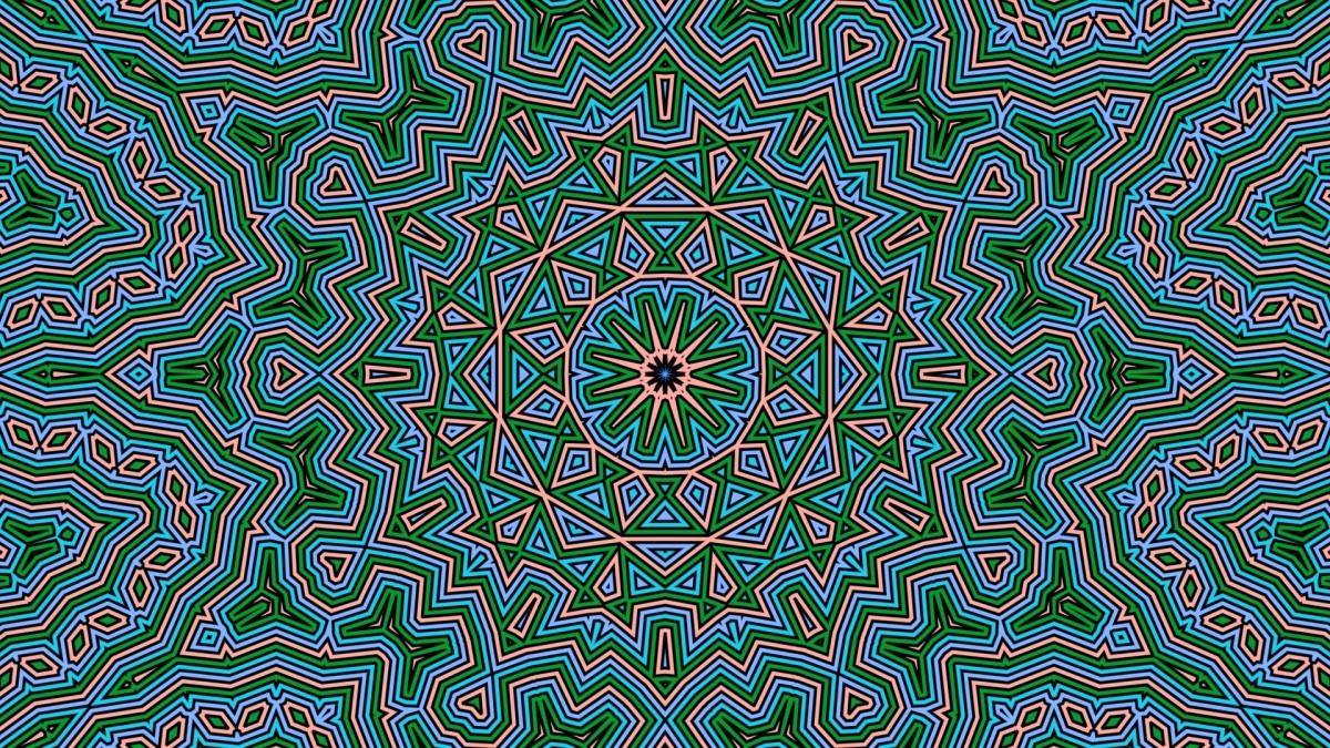 Puzzle Sammeln Puzzle Online - Circular pattern