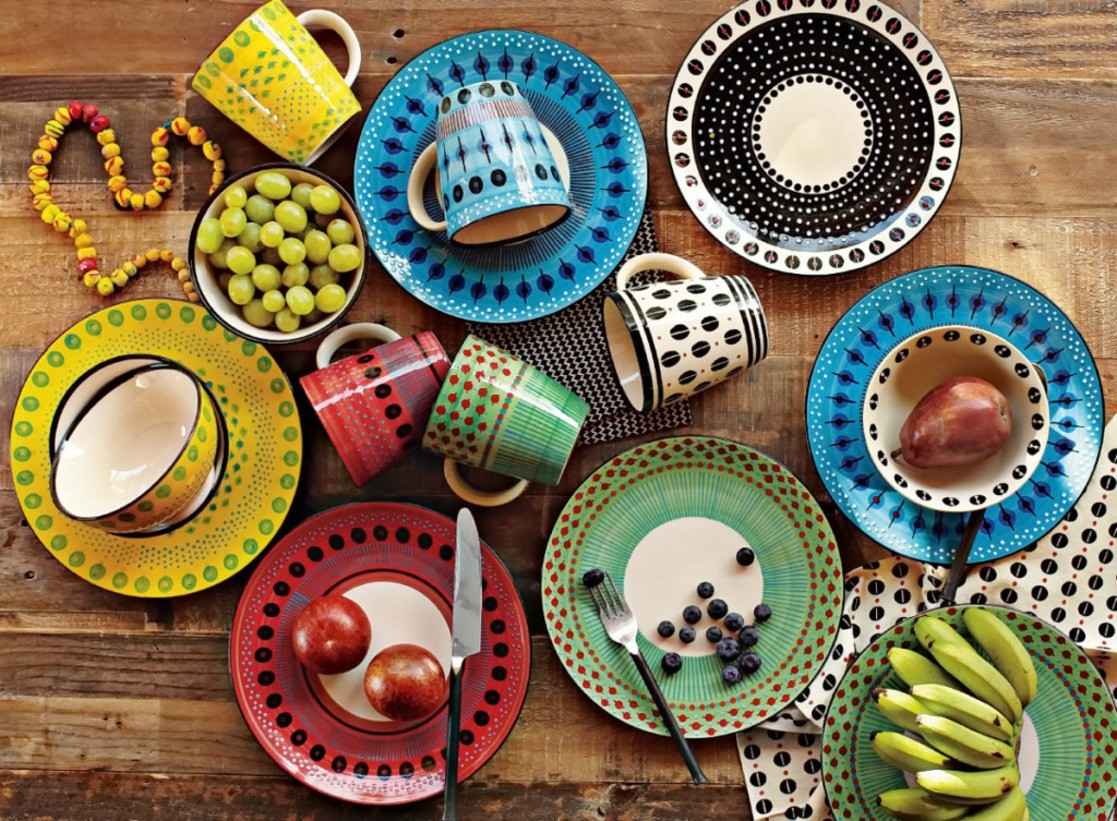 Puzzle Mugs and plates