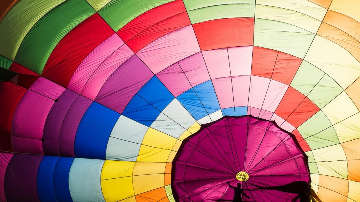 Puzzle Sammeln Puzzle Online - The dome of a parachute