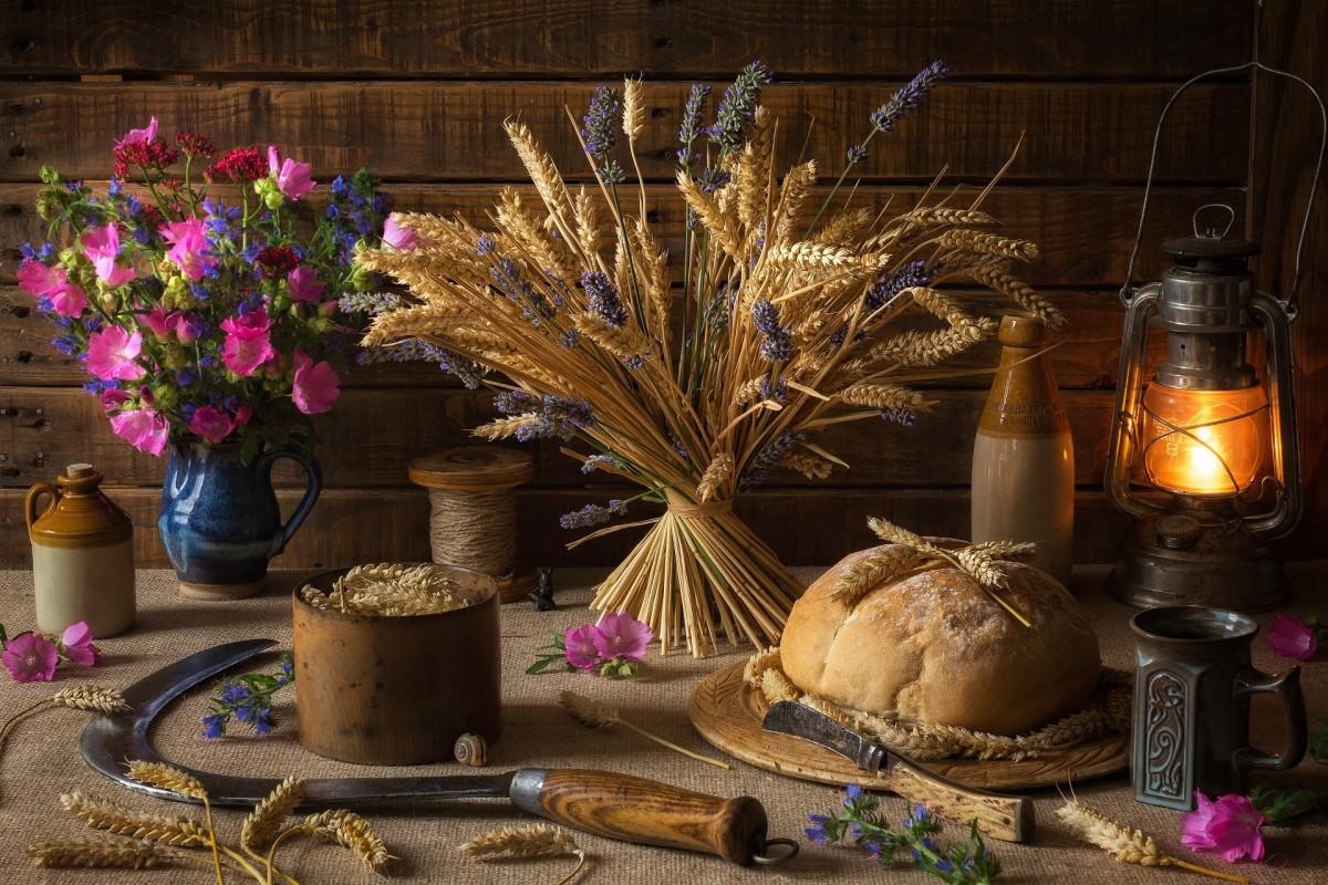 Puzzle Sammeln Puzzle Online - Lavender and rye