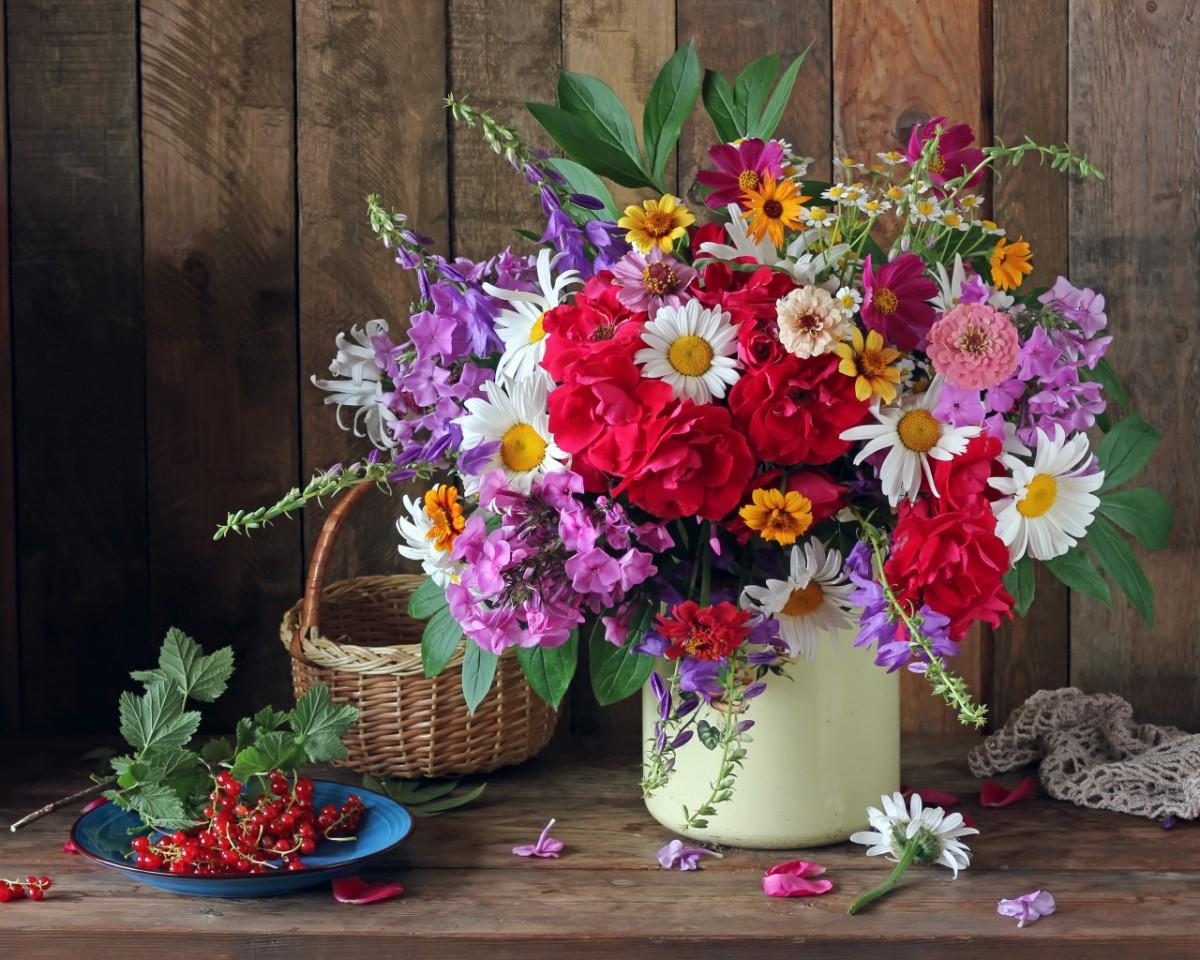 Puzzle Sammeln Puzzle Online - Summer bouquet