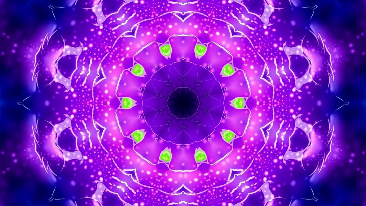 Puzzle Sammeln Puzzle Online - Magic fractal