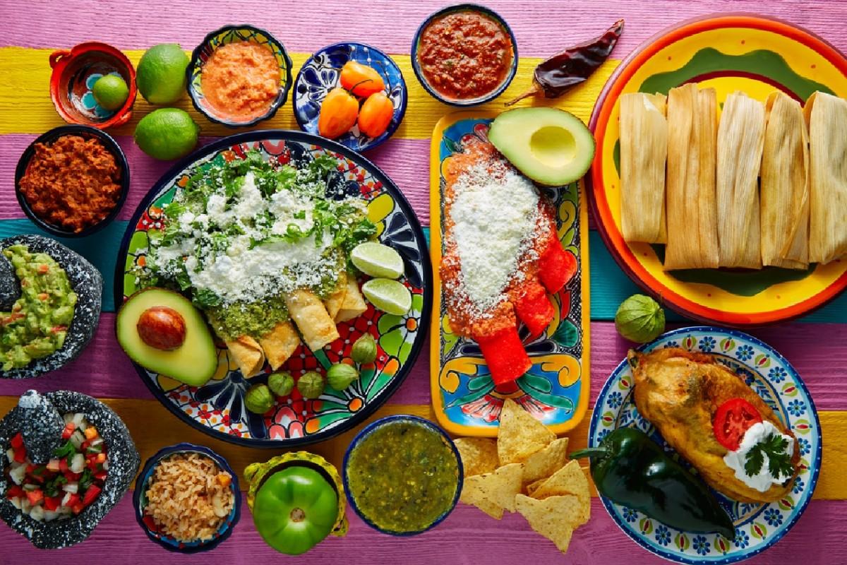 Puzzle Mexican cuisine