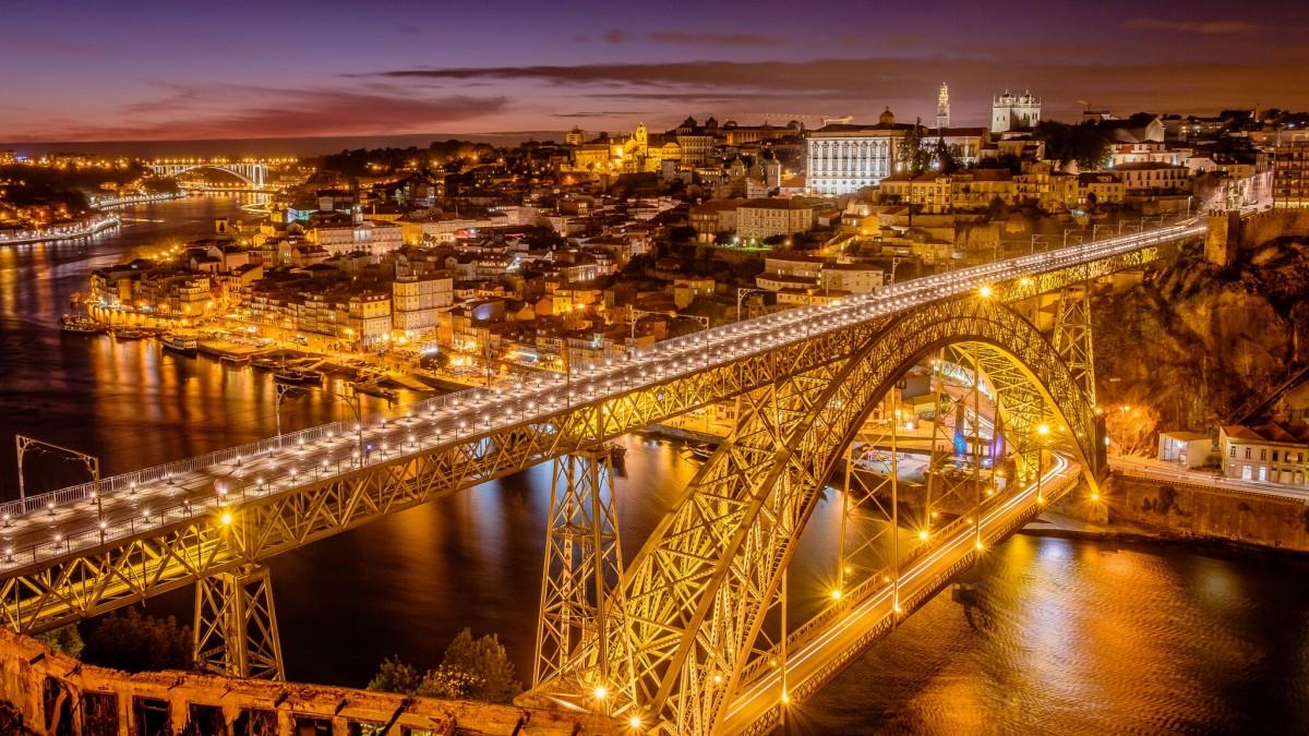 Puzzle Sammeln Puzzle Online - The bridge in Portugal