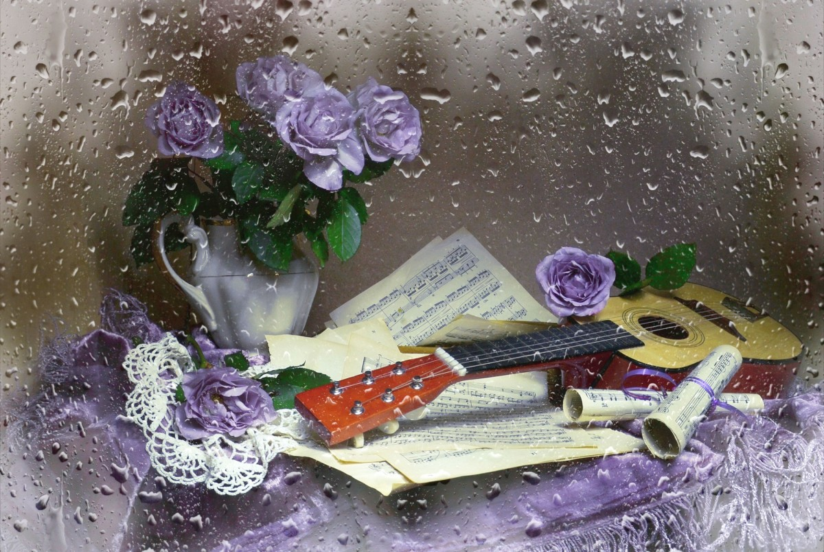 Puzzle Sammeln Puzzle Online - Music of the rain