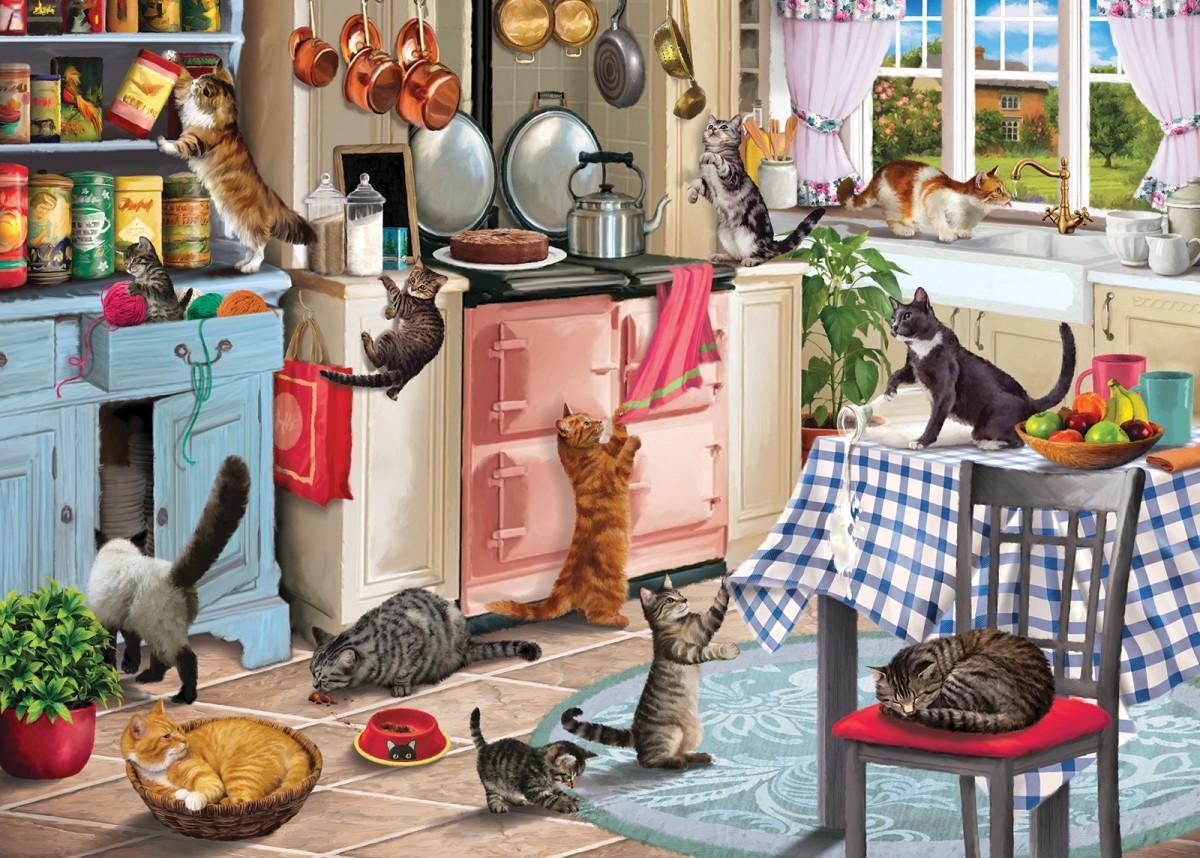 Puzzle Sammeln Puzzle Online - In the kitchen