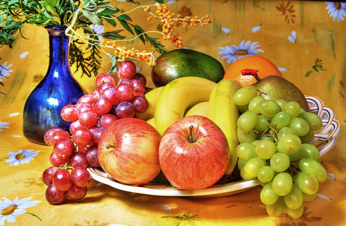 Puzzle Sammeln Puzzle Online - Still life with fruit