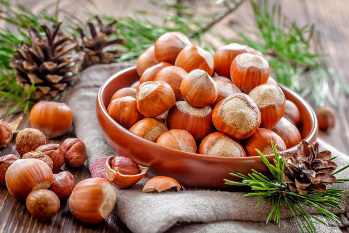 Puzzle Sammeln Puzzle Online - Still life with nuts