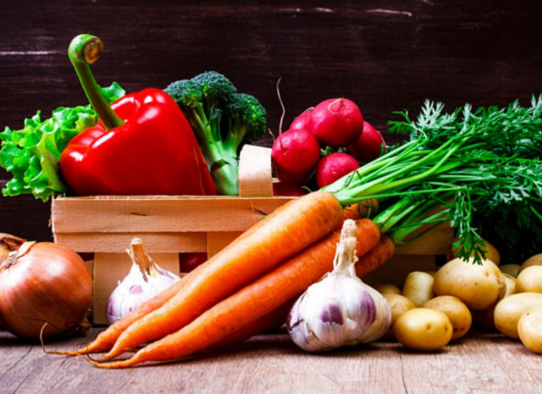 Puzzle Sammeln Puzzle Online - Still life with vegetables