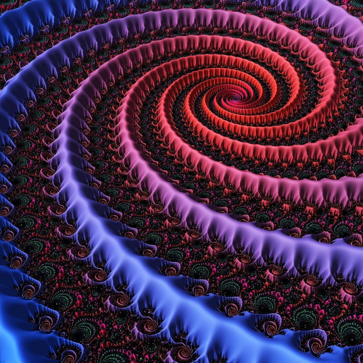 Puzzle Sammeln Puzzle Online - Voluminous spiral
