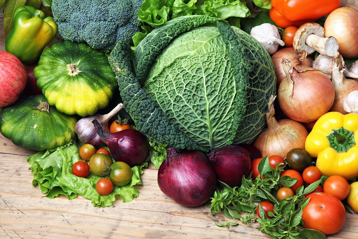 Puzzle Sammeln Puzzle Online - Vegetables
