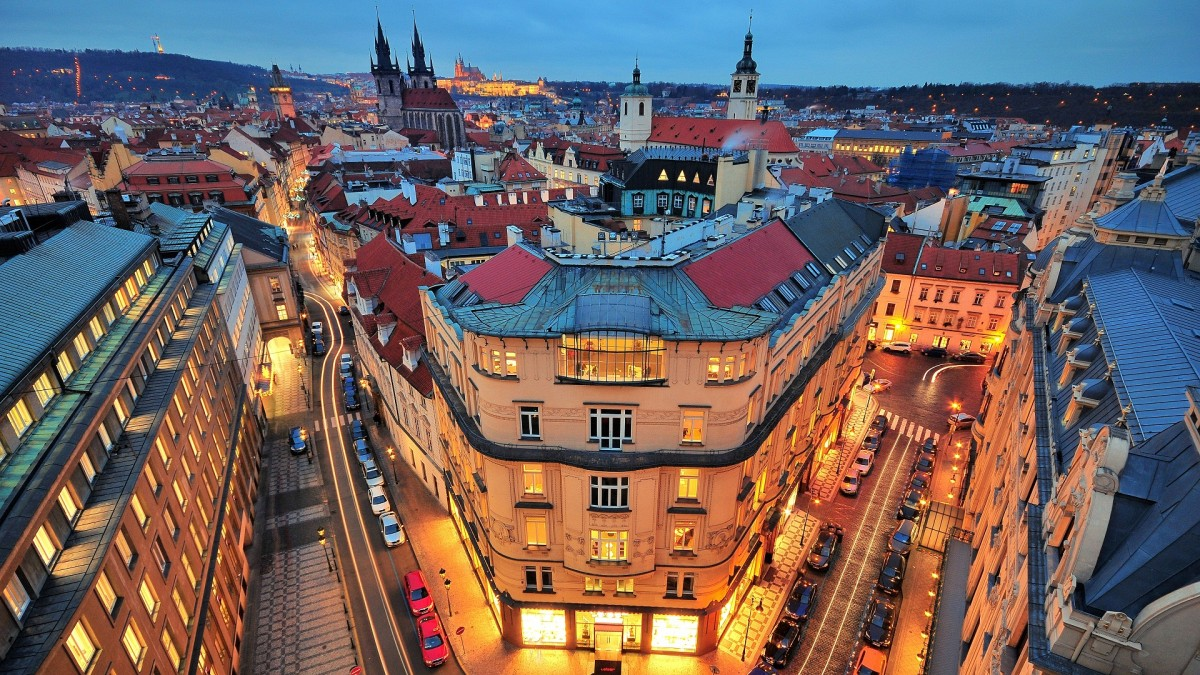 Puzzle Sammeln Puzzle Online - Panorama Of Prague