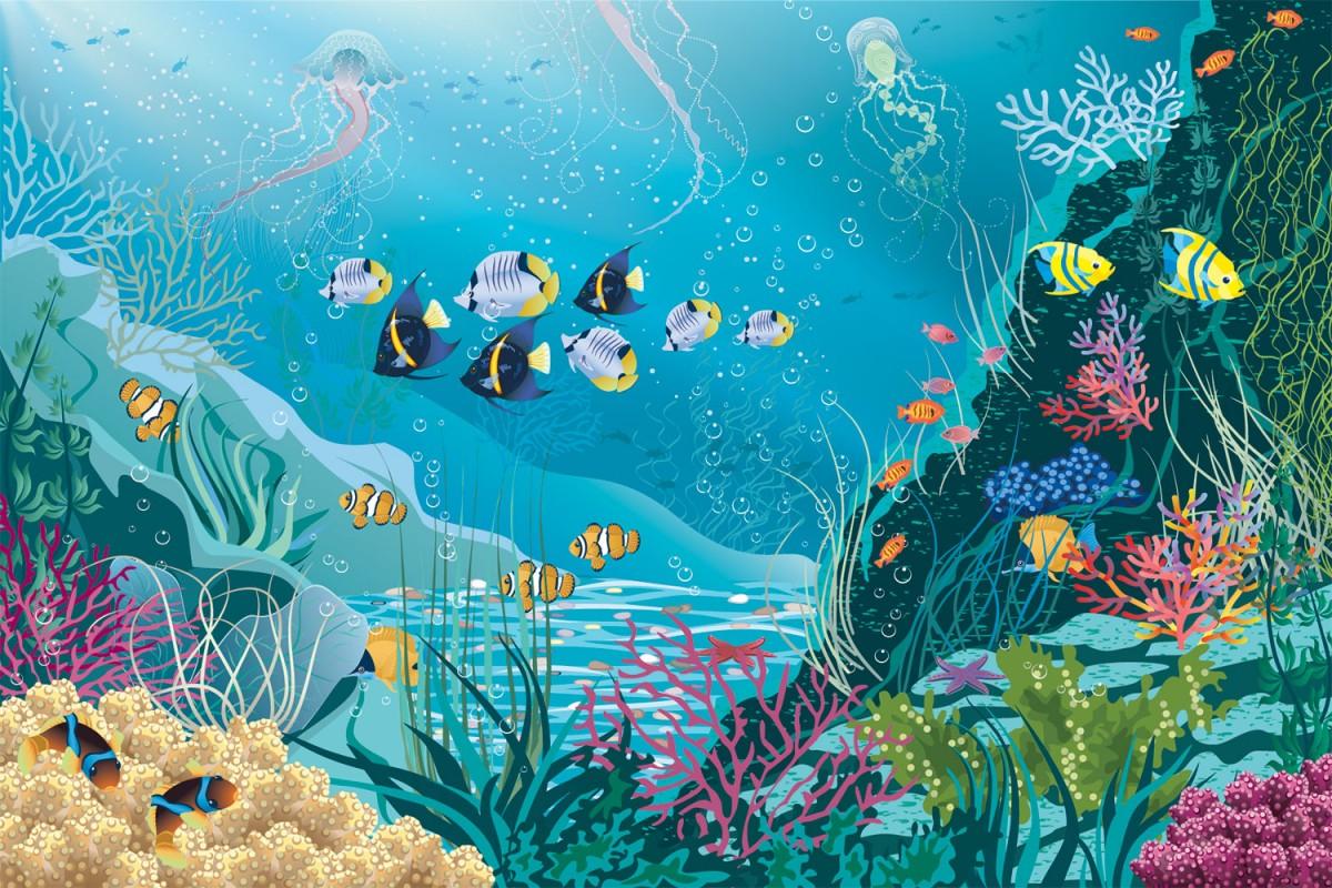 Puzzle Sammeln Puzzle Online - Underwater world