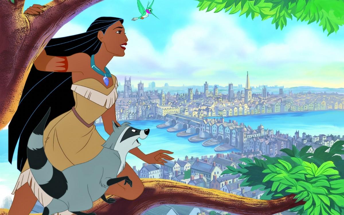 Puzzle Sammeln Puzzle Online - Pocahontas