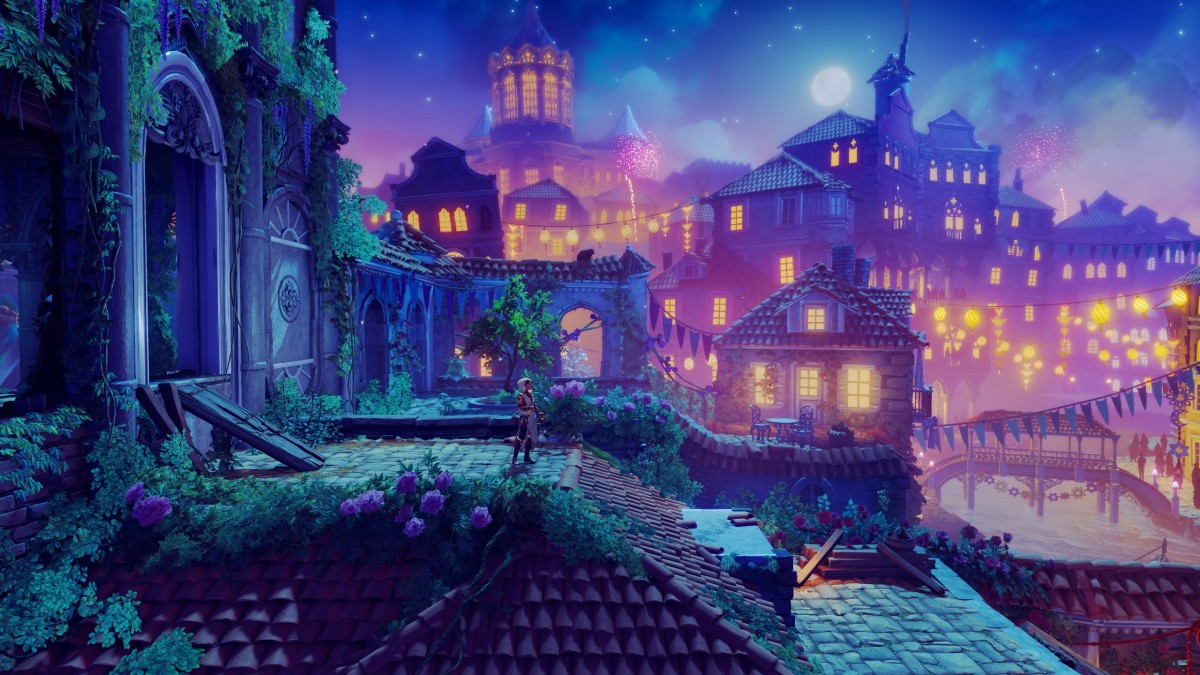 Puzzle Sammeln Puzzle Online - Lilac city