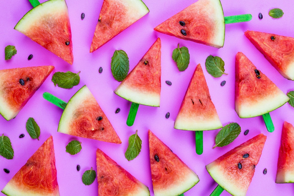Puzzle Sammeln Puzzle Online - Triangles of watermelon