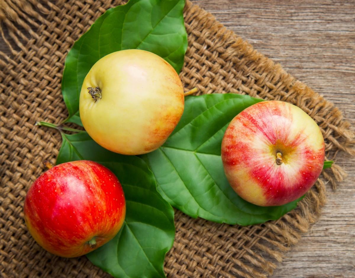 Puzzle Sammeln Puzzle Online - Three apples