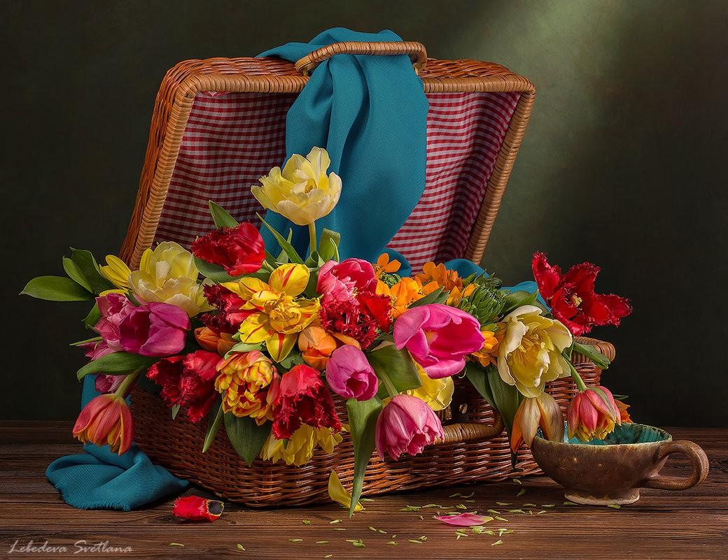 Puzzle Sammeln Puzzle Online - Spring flowers