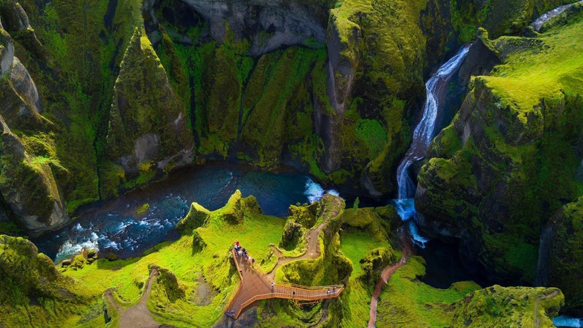 Puzzle Sammeln Puzzle Online - Magical Iceland