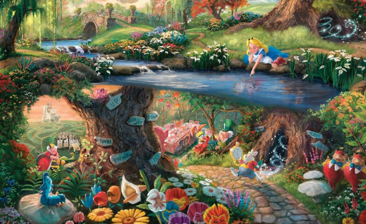 Puzzle Sammeln Puzzle Online - The magical world of Alice