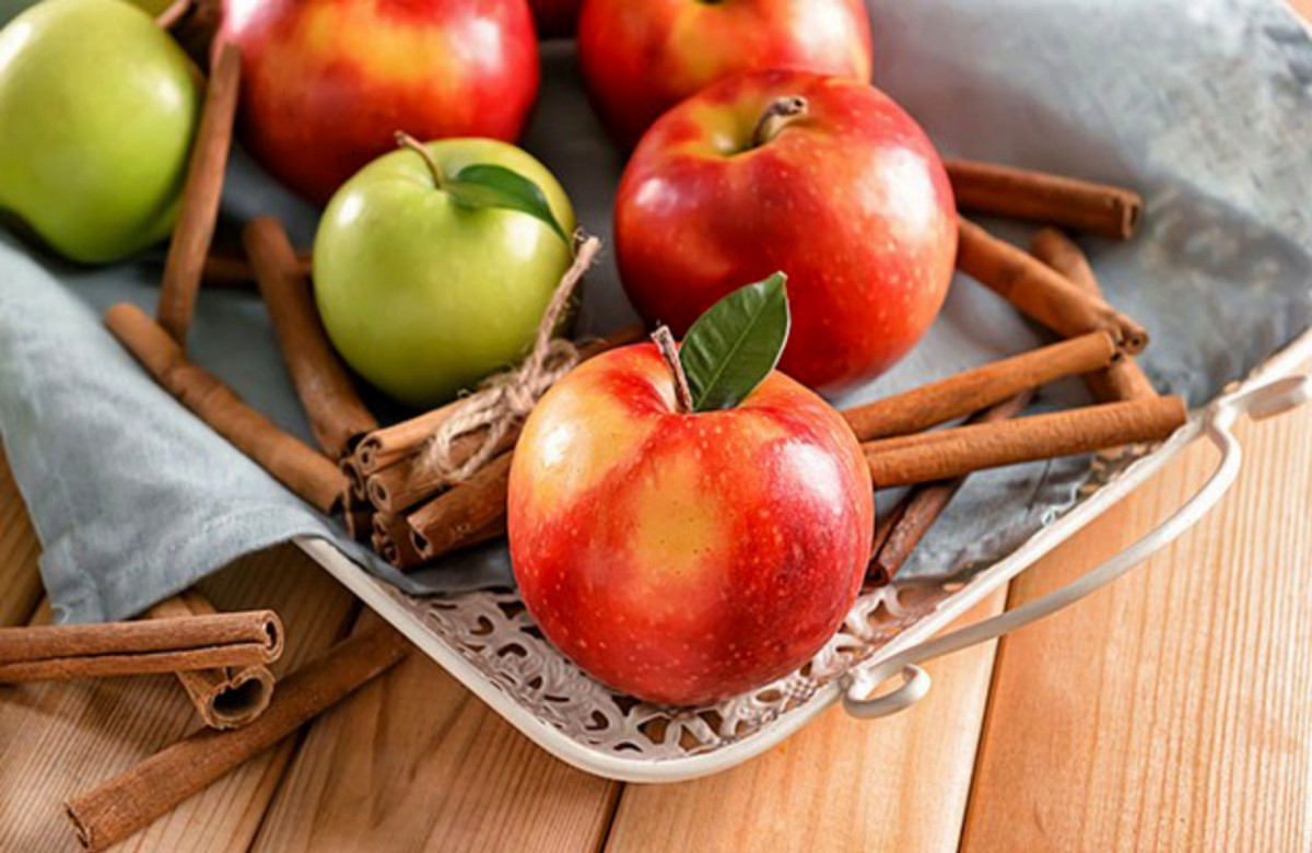 Puzzle Sammeln Puzzle Online - Apples on a tray