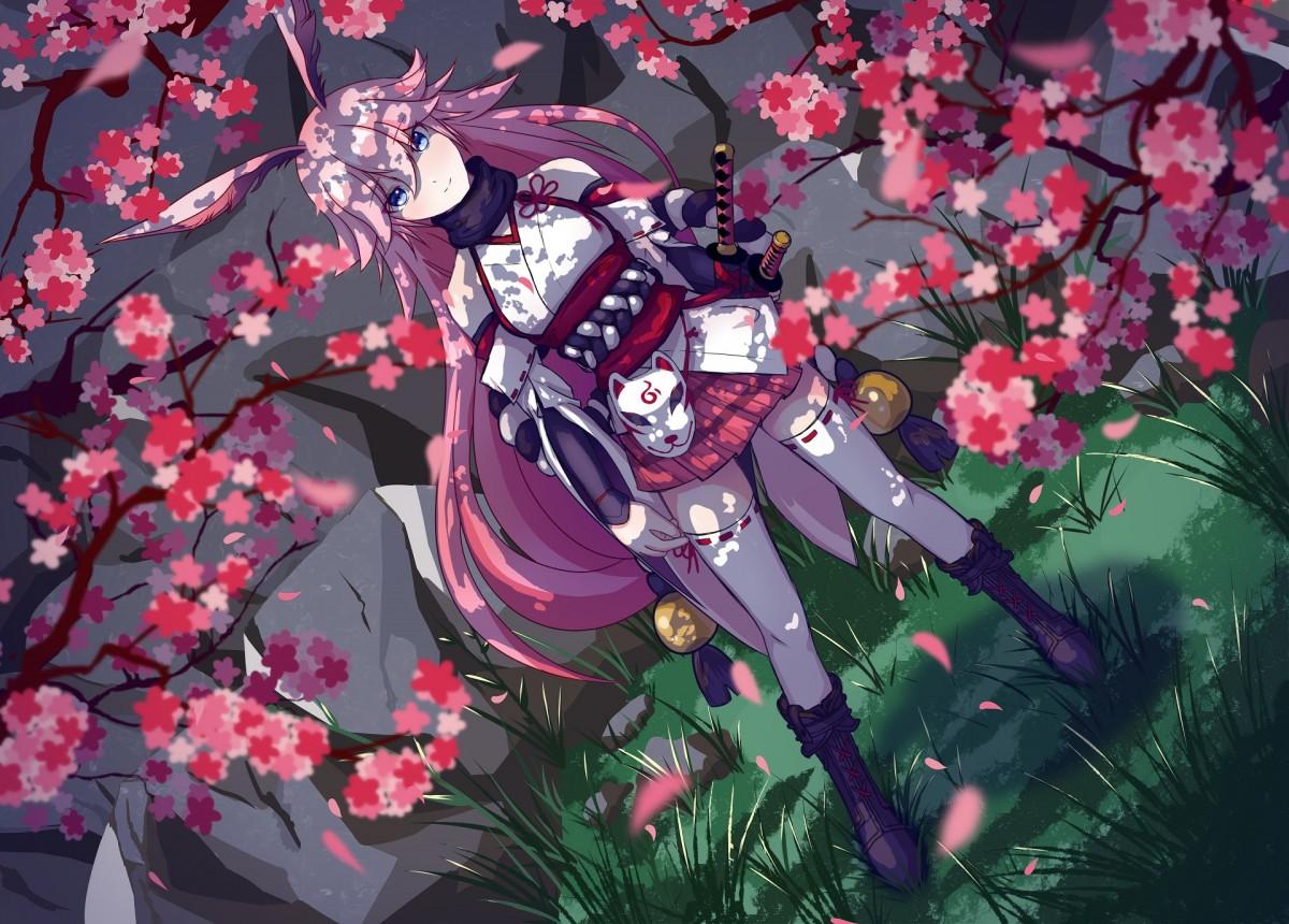 Puzzle Sammeln Puzzle Online - Yae Sakura