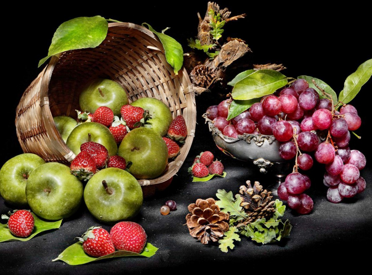Puzzle Sammeln Puzzle Online - Berries and fruits