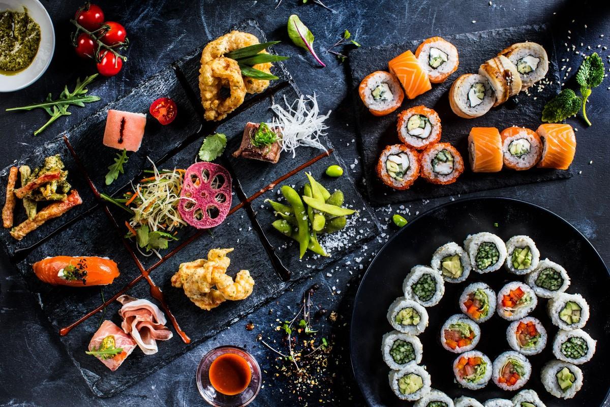 Puzzle Sammeln Puzzle Online - Japanese dishes