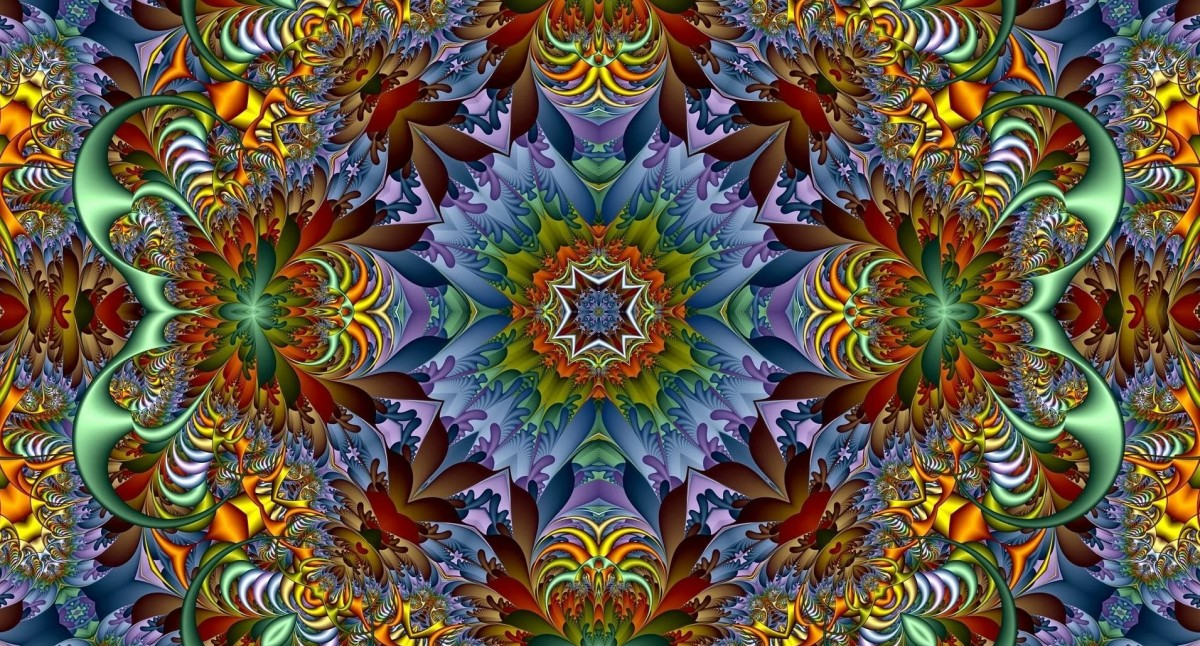 Puzzle Sammeln Puzzle Online - Bright abstraction
