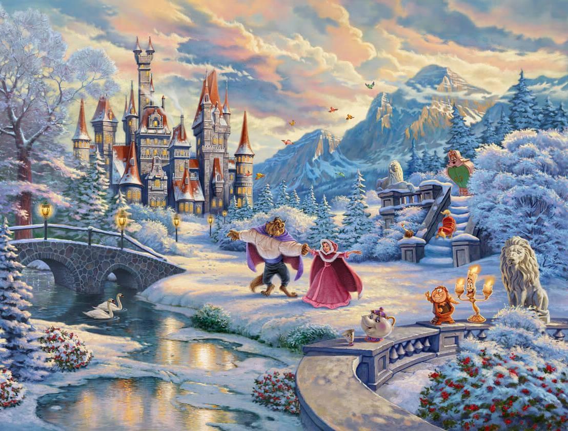 Puzzle Sammeln Puzzle Online - The beasts castle