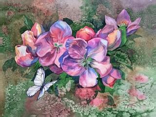 Собирать пазл Akvarel онлайн