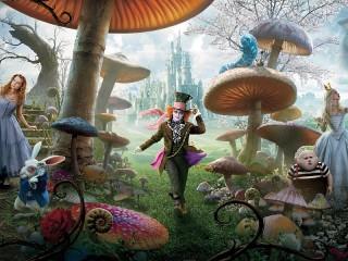 Собирать пазл Alice in Wonderland онлайн