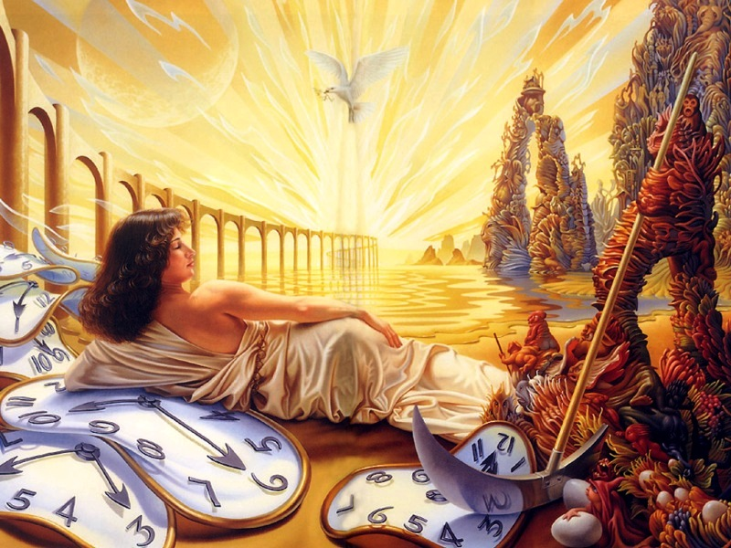 Puzzle Sammeln Puzzle Online - Allegory of time