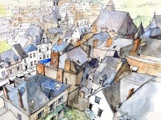 Собирать пазл Amboise онлайн
