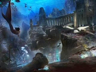 Собирать пазл Atlantis онлайн