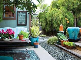 Собирать пазл Backyard онлайн