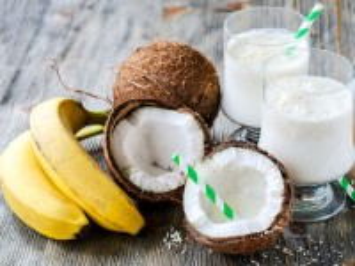 Собирать пазл Bananas and Coconuts онлайн