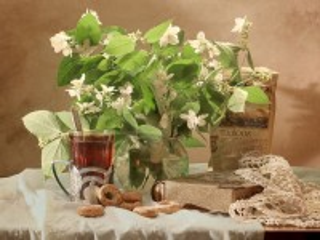 Собирать пазл Tea with Jasmine онлайн