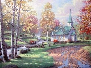 Собирать пазл Chapel онлайн