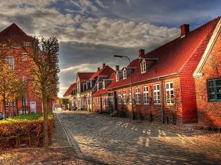 Собирать пазл Denmark онлайн